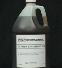 Jug of PRO-1 Leather Finishing Oil